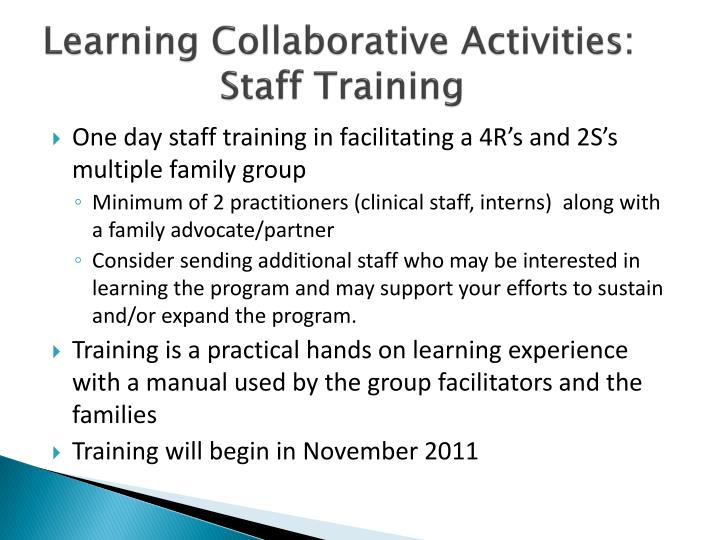 Learning Collaborative Activities: