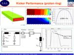 kicker performance proton ring
