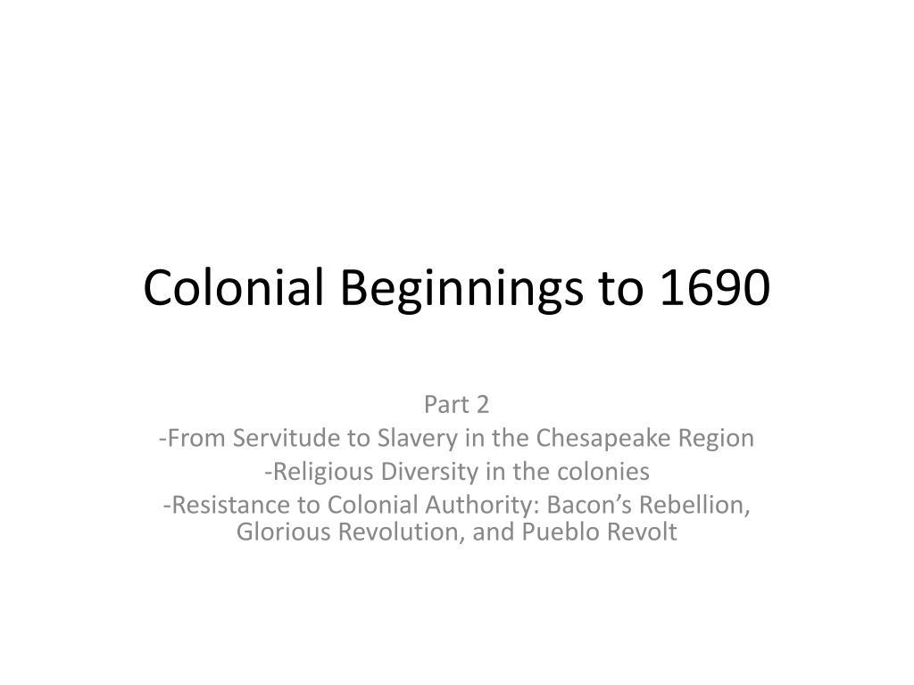 chesapeake colonies religion