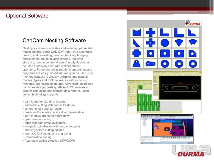 Optional Software