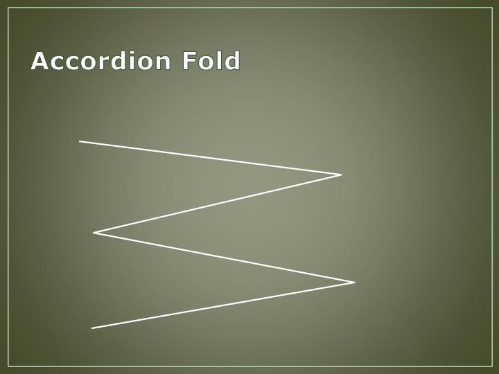 Accordion Fold