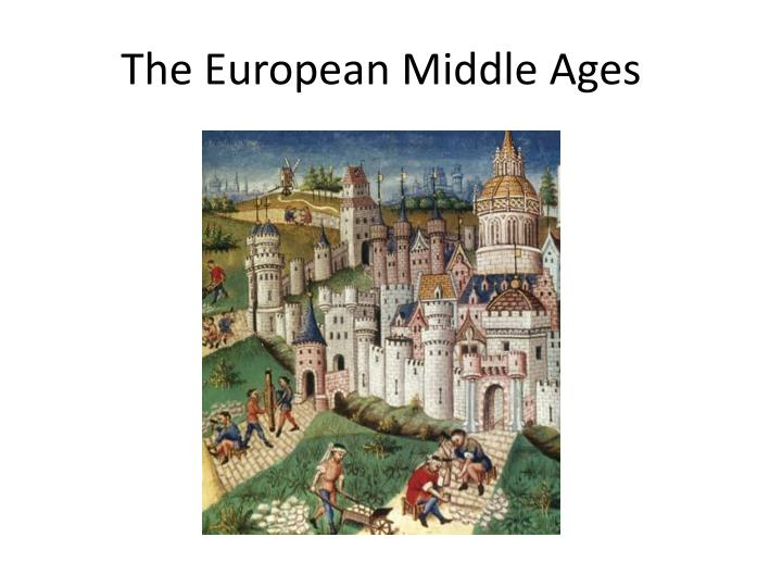 the european middle ages n.