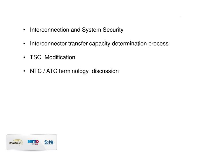 Interconnection and System Security