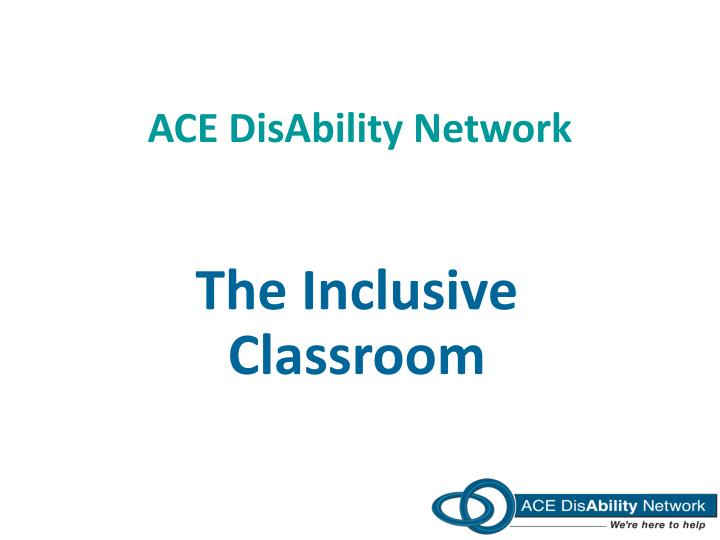 ace disability network n.