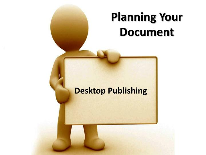 planning your document n.
