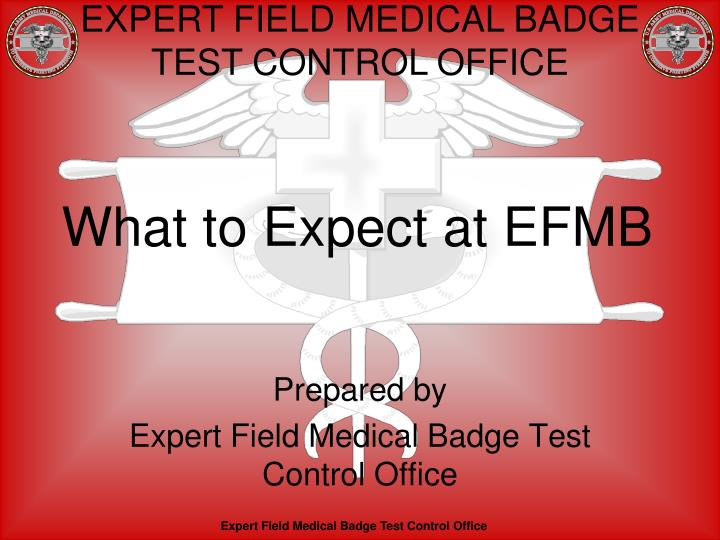 what to expect at efmb n.