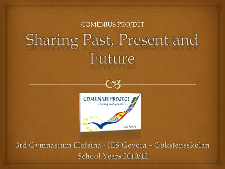 sharing past present and future n.