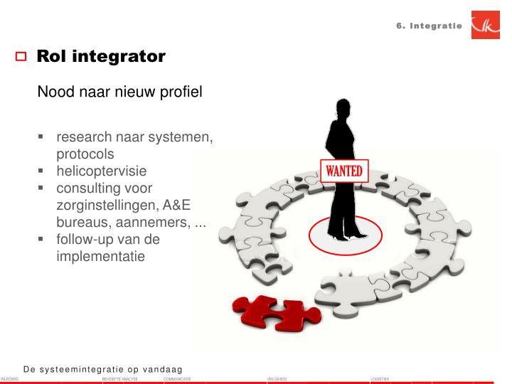 6. Integratie