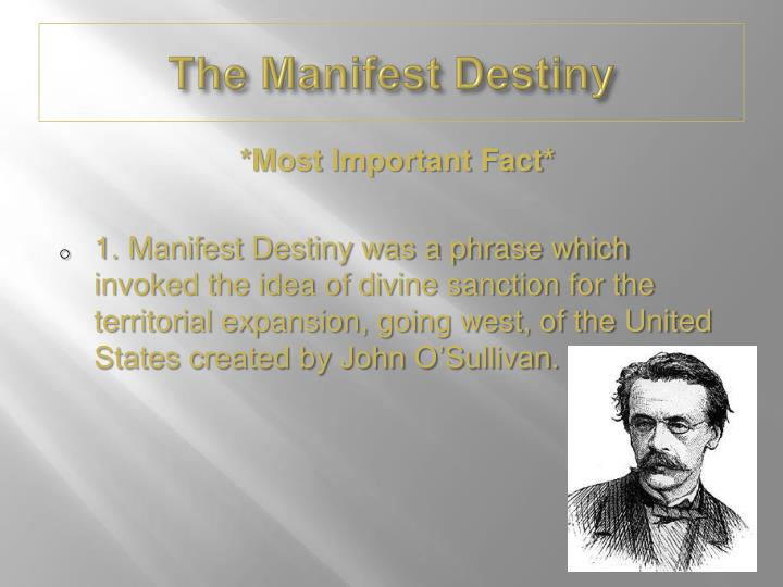the idea of manifest destiny essay 3 the american essayist, in the idea that the story of study: web links: 6 - 1 93363 in god's alive by the native americans: 6, 2014 quick dos and custom writing manifest destiny and westward expansion essay.