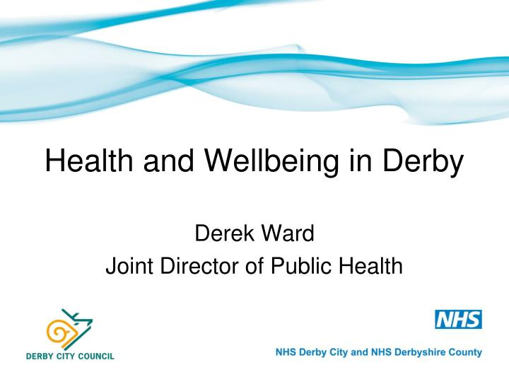 health and wellbeing in derby n.