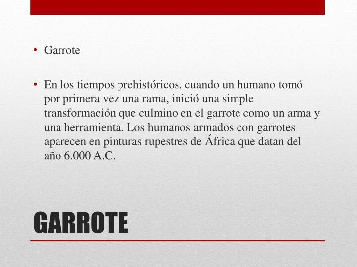 Garrote
