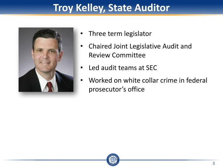 Troy kelley state auditor