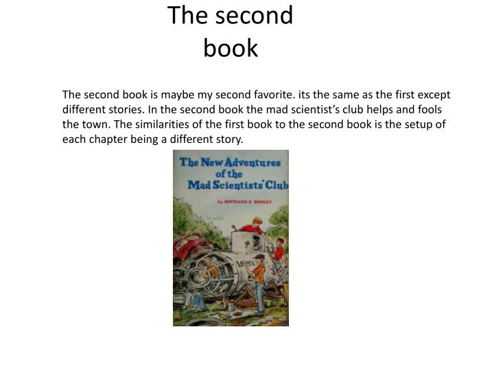 The second book