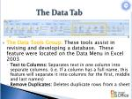 the data tab3