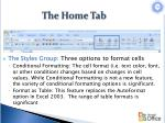 the home tab4