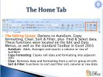the home tab8