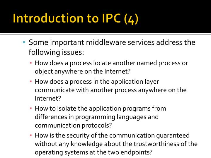 Introduction to IPC (4)