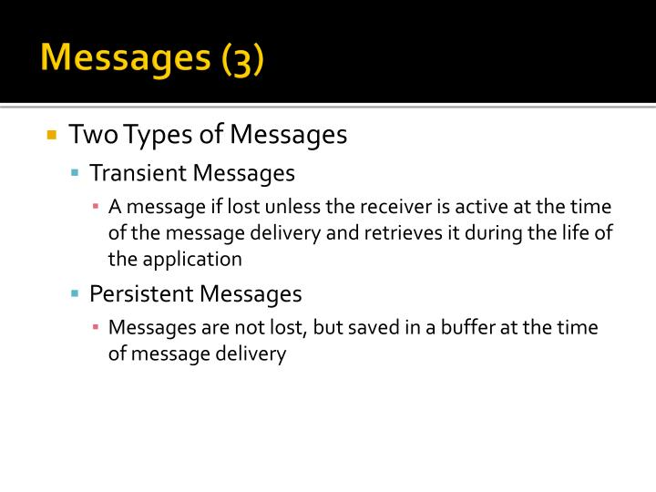Messages (3)