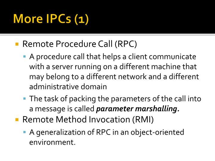 More IPCs (1)