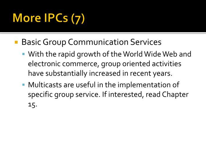 More IPCs (7)