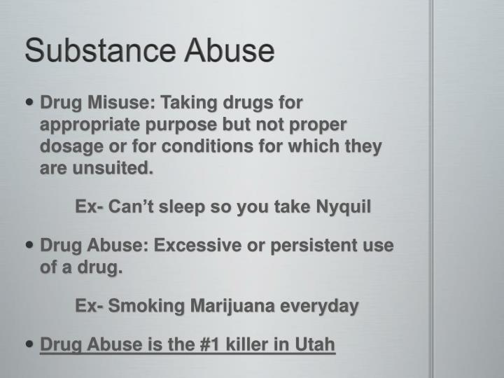 substance abuse research ok copy Alcohol use disorder (which includes a level that's sometimes called alcoholism) is a pattern of alcohol use that involves problems controlling your drinking, being preoccupied with alcohol, continuing to use alcohol even when it causes problems, having to drink more to get the same effect, or.