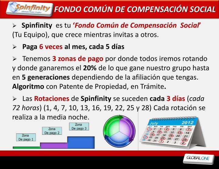 FONDO COMÚN DE COMPENSACIÓN SOCIAL