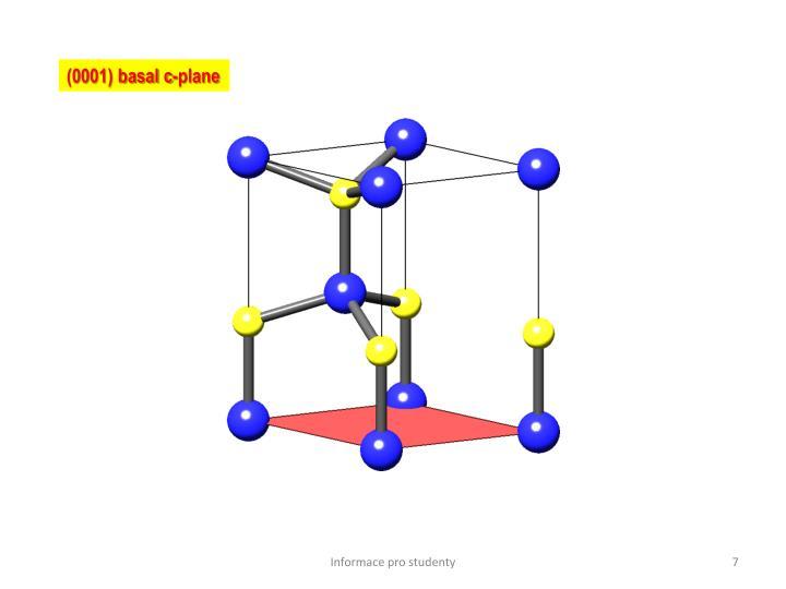 (0001) basal c-plane