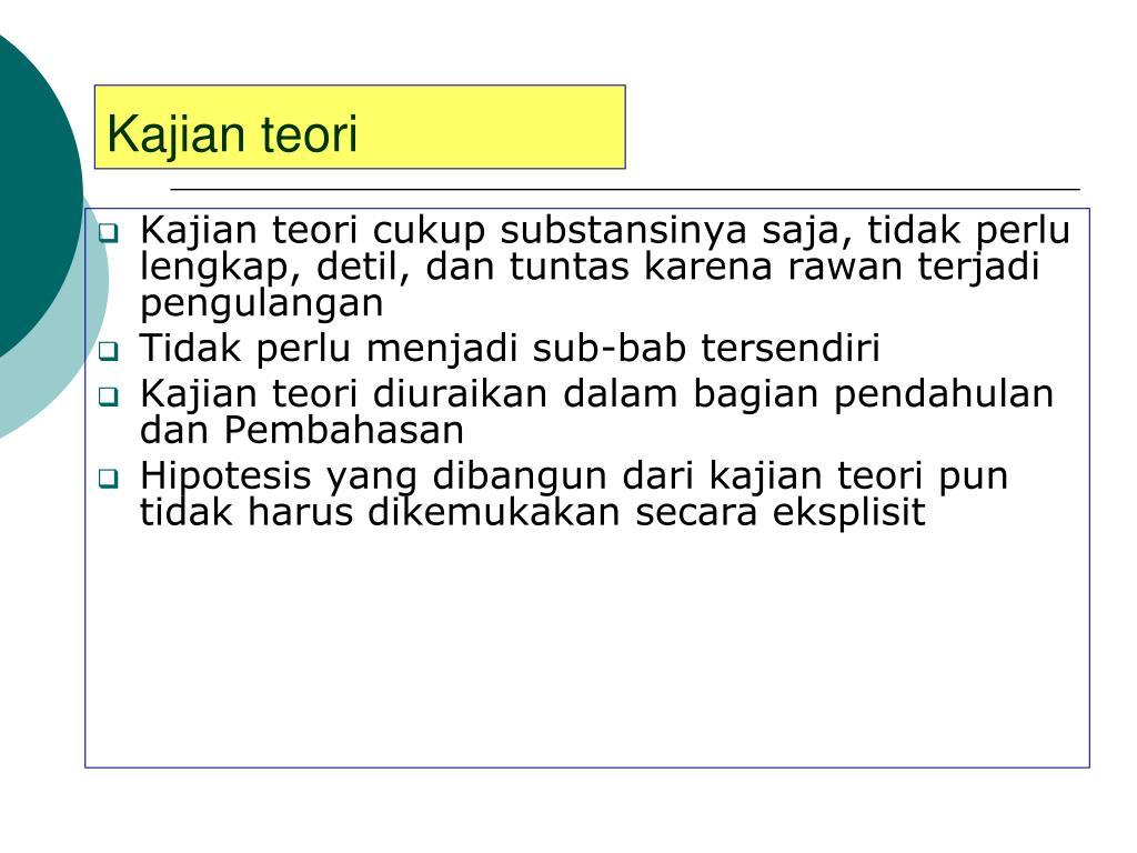 PPT - TATA CARA PENULISAN ARTIKEL ILMIAH PowerPoint ...