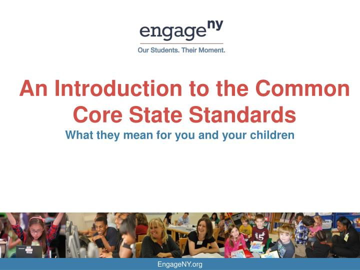 an introduction to the common core state standards n.