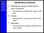 qualifications of deacons1