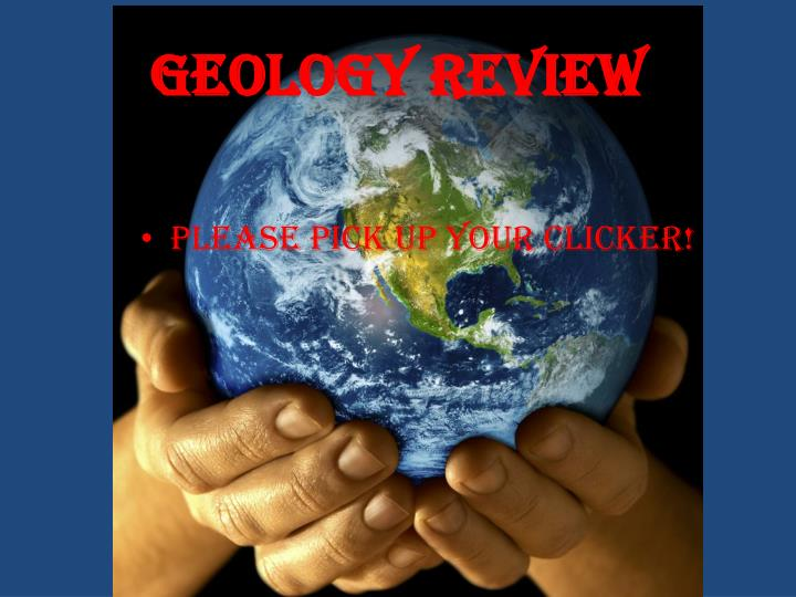 geology review n.