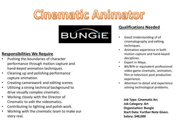 Cinematic Animator
