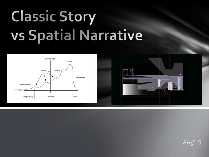 Ppt Classic Story Vs Spatial Narrative Powerpoint Presentation Free Download Id 2151684