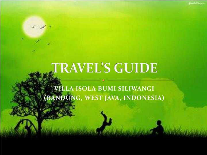 travel s guide n.