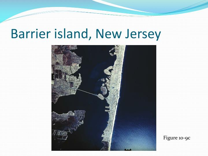 Barrier island, New Jersey