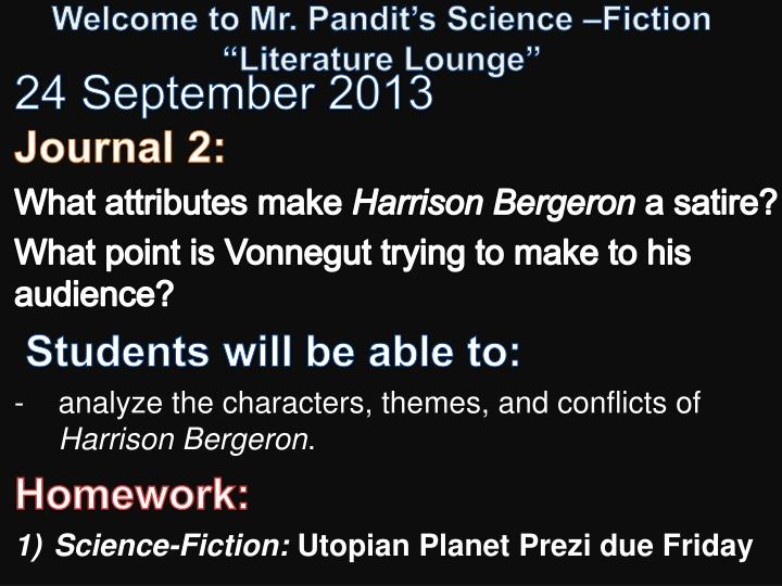 welcome to mr pandit s science fiction literature lounge n.