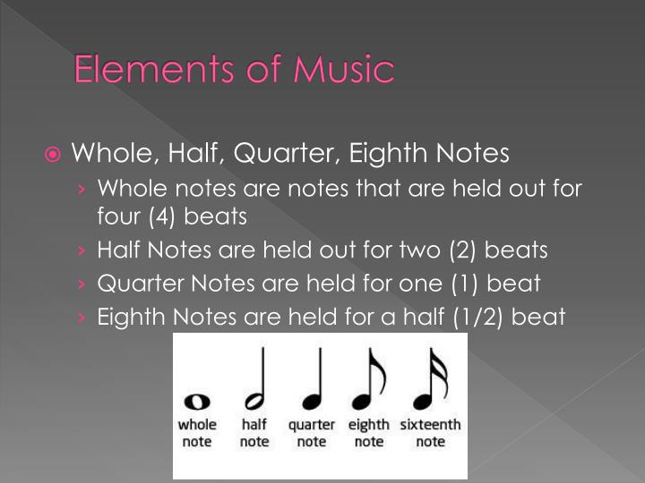 Elements of Music