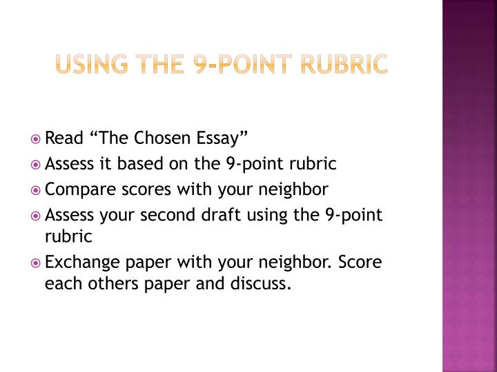 Writing an analytical essay powerpoint