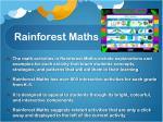 rainforest maths