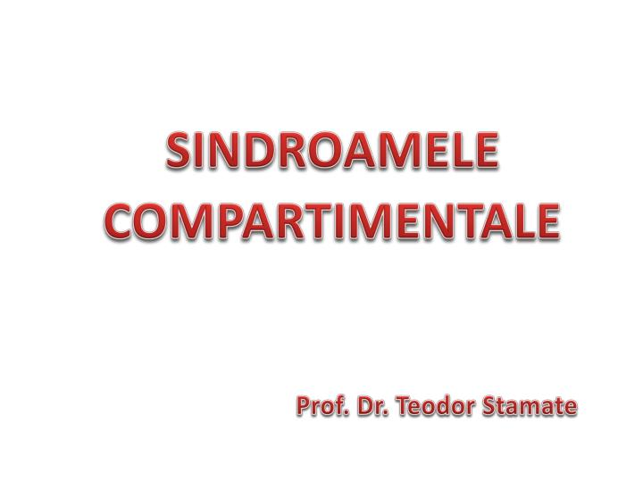 sindro a mele compartimentale n.
