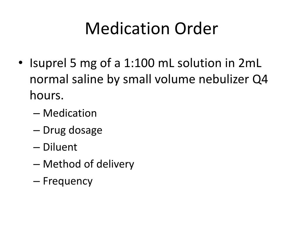 PPT - Respiratory Therapy Pharmacology PowerPoint ...
