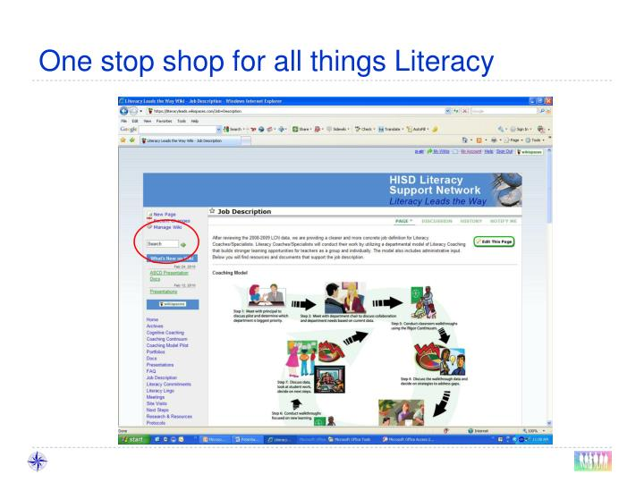 One stop shop for all things Literacy