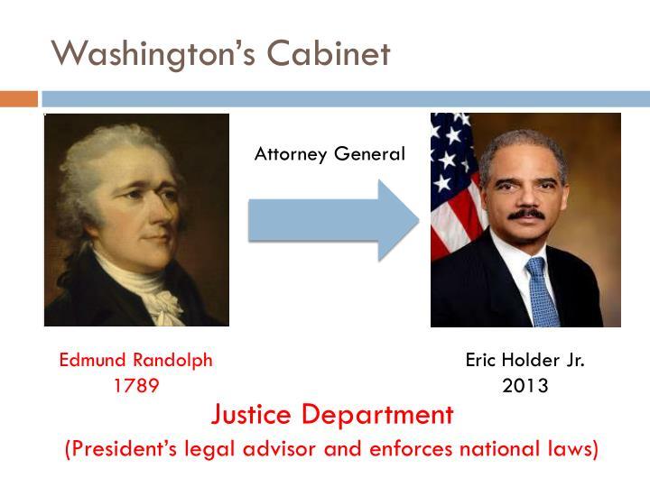 Washington's Cabinet