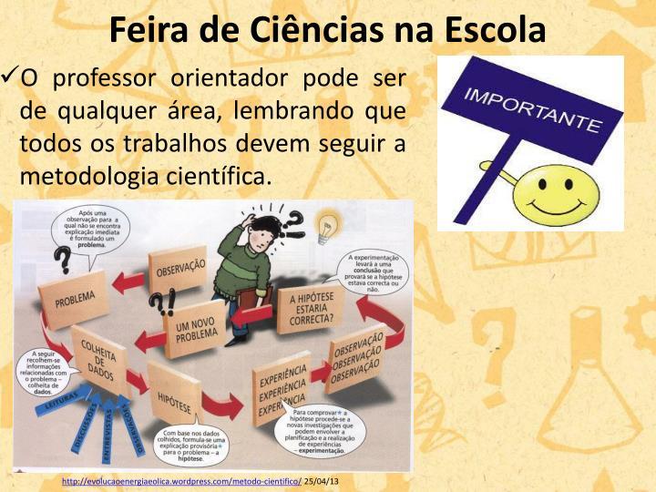 Feira de Ciências na Escola