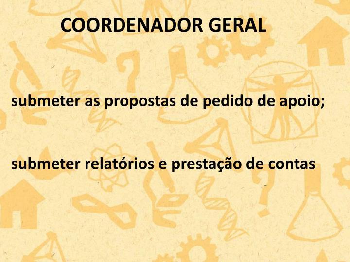COORDENADOR GERAL