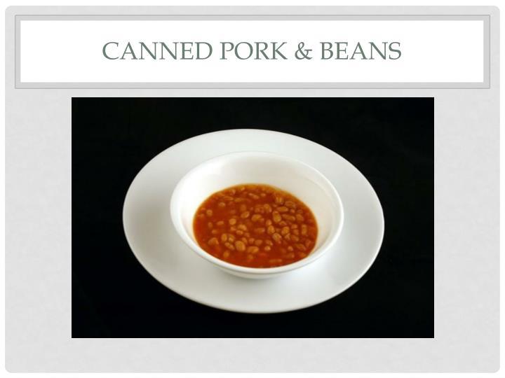 Canned Pork & Beans