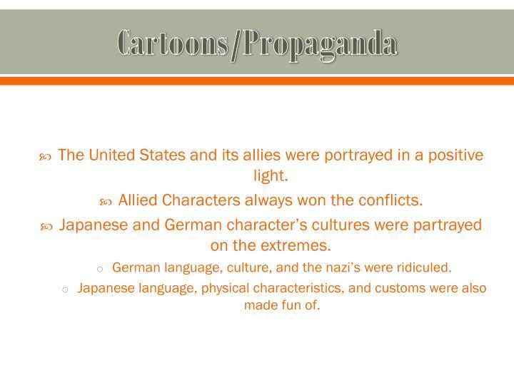 Cartoons propaganda