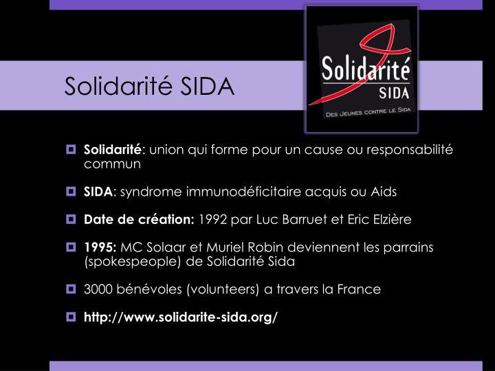 Solidarit sida