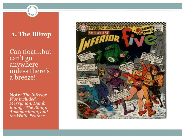 1. The Blimp