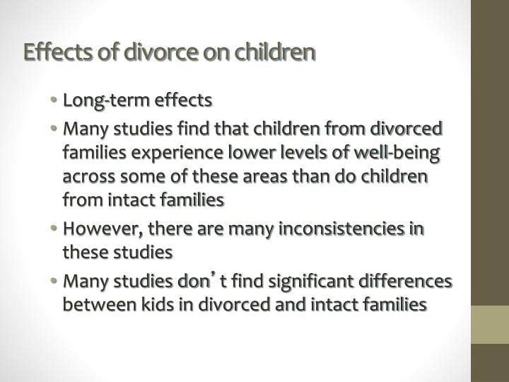an analysis of the influence of divorce on child development But parenting goes far beyond the requirements for meeting the basic survival needs of the child, and parents have a significant influence on how an important factor in the emotional development of children is how warm caregivers are, and studies have been done to find the effects of depressed.